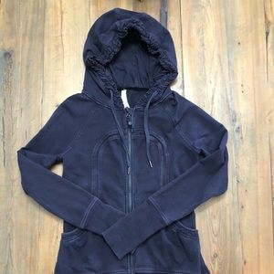 Lululemon Athletica Back to Class Hoodie, size 8
